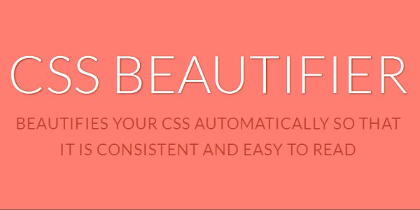 CSS-Beautifier-formats-your-css-code