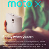 An email announcing the new Moto X from Motorola Mobility
