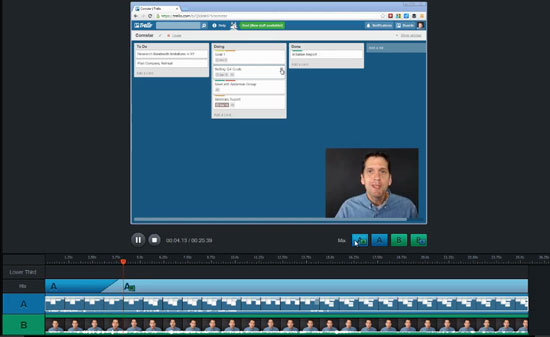 The new Articulate Replay app in Studio 13.