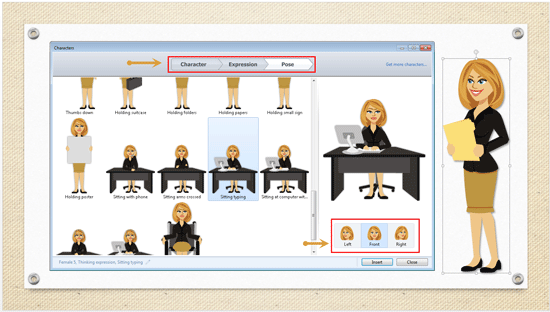 Smart Characters in Articulate Studio 13