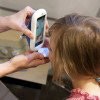 iTôk It is an iPhone accessory to help speech therapists introduce letters and sounds to children with speech disorders.